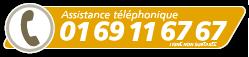 Assistance téléphonique 01 69 11 67 67